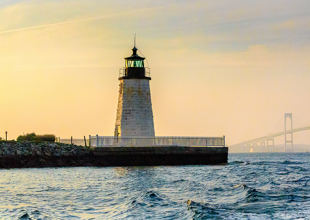 13. Take a look at just one of the many stunning historic lighthouses of Rhode Island.