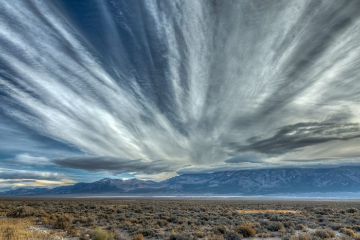 13. These clouds are overlooking Great Basin Hwy 93. Aren't they incredible?