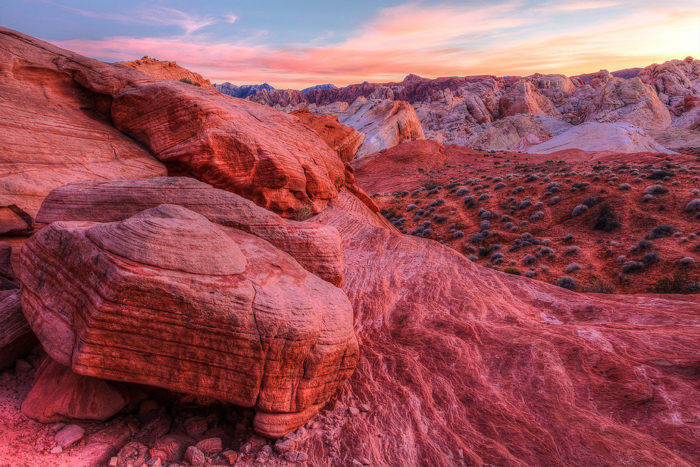 Instead, take spend the entire day at The Valley of Fire State Park.