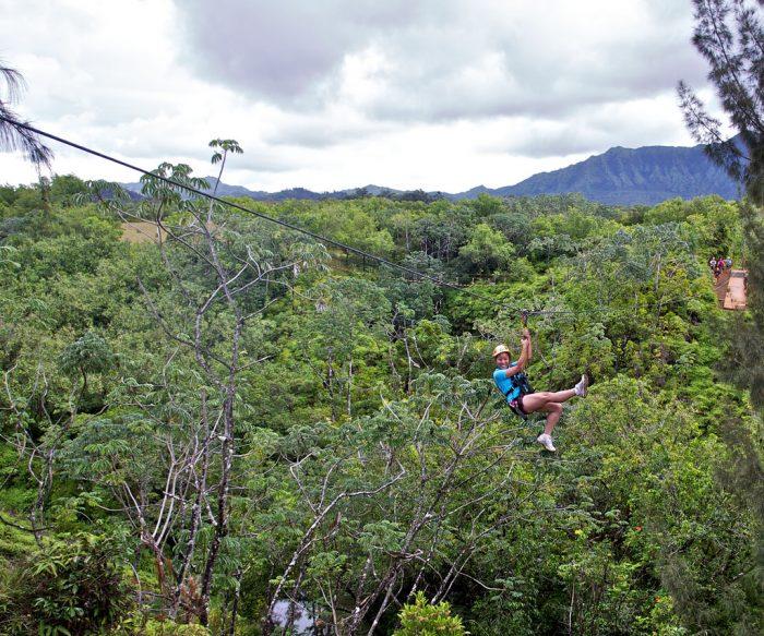 16. Take to the skies with a zipline tour.