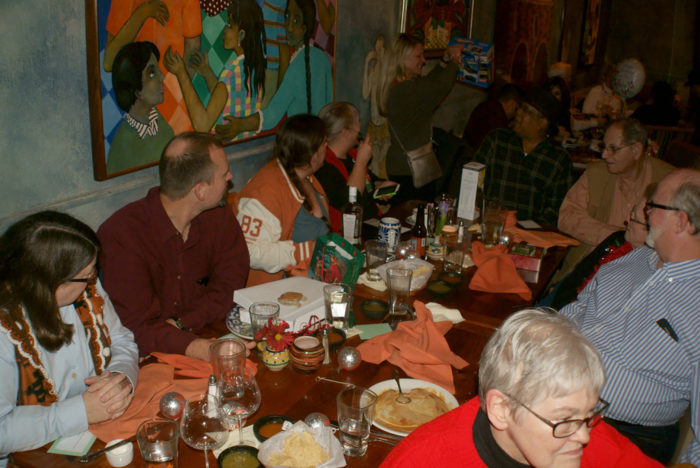 1. Fonda San Miguel is a popular place for weekend brunches and big get togethers.