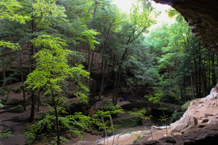 3. Old Man's Cave (Hocking Hills State Park)