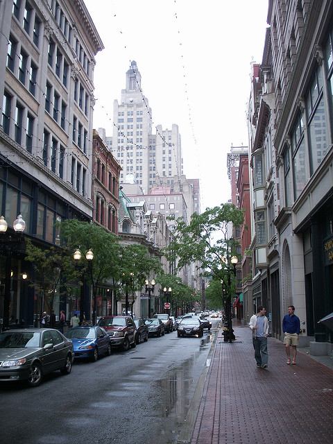 2. Downtown Providence