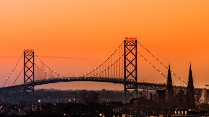 4. Ambassador Bridge