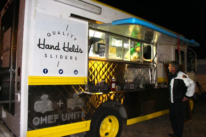 7. Hand Helds has some yummy gourmet sliders waiting just for you to grab on to them!