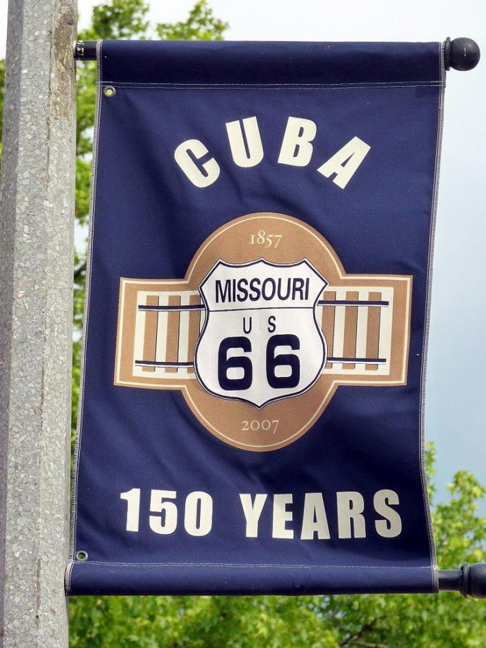 11. Visited Cuba.