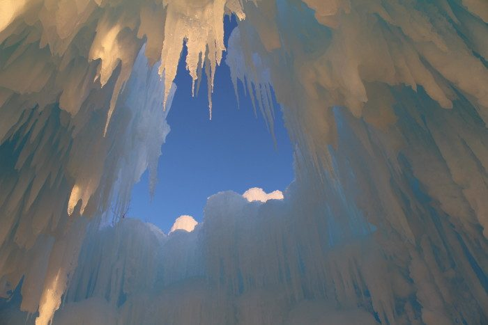 6. Ice Castles of Eden Prairie