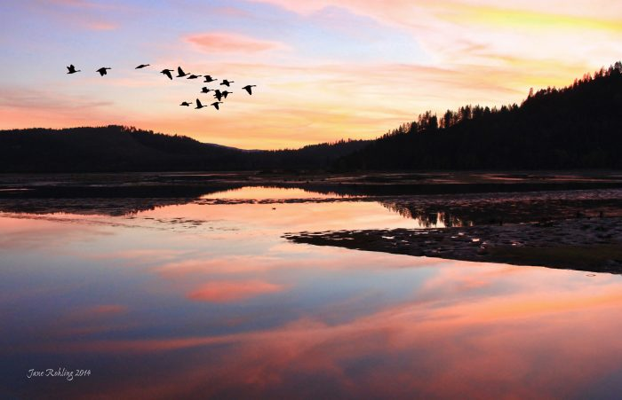 7. Pend Oreille is renowned for its stunning sunsets.