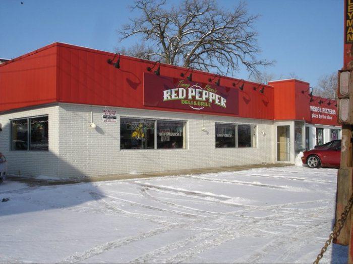 1. Timmy Flynn's Red Pepper Deli & Grill, Iowa City