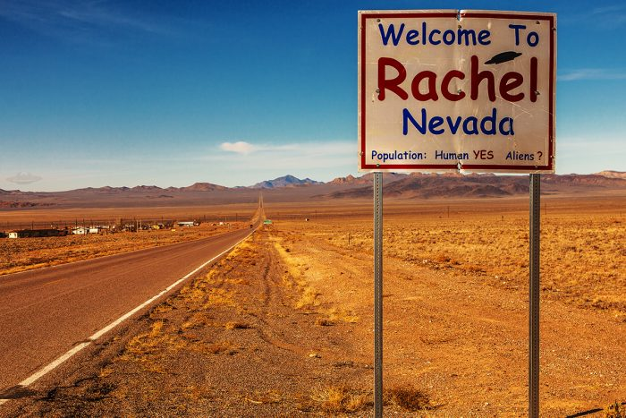 1. Many Nevadans are either obsessed with tracking down extraterrestrials...
