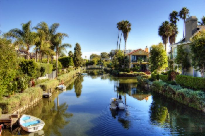 8. You don't have to travel to Italy to capture stunning photos of the canals. Just head to Venice here in California and you'll find local canals that are just as photo-worthy.