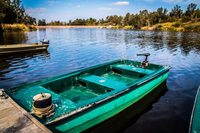 5. Hang out on the water on a hot summer day. This spot at Laguna Niguel Regional Park sure looks pretty. Afternoon snooze in a boat, anyone?