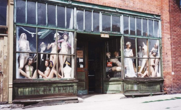 5. It is illegal to change the clothes on a storefront mannequin unless the shades are down.