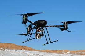 (Pictured: a drone, not the specific model used for the flights.)