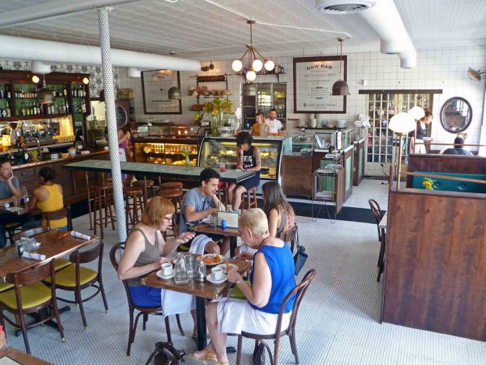 6. Hillside Farmacy is a cute little place to sit down and really enjoy farm to table dining at its best.