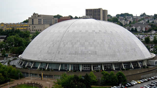 17. The Civic Arena made history, becoming the first stadium with a retractable roof, when it opened on September 18, 1961.