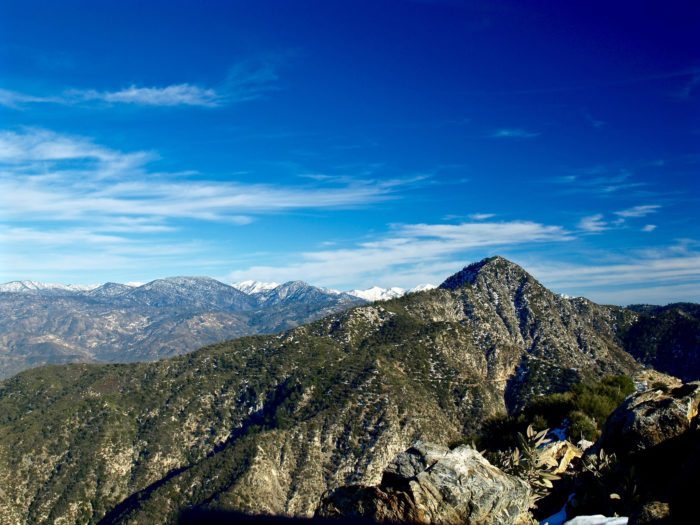 4. Strawberry Peak -- San Gabriel Mountains