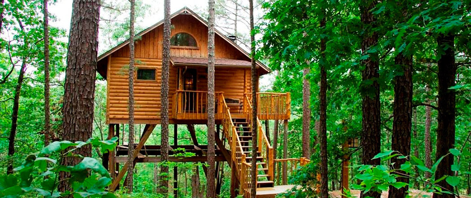 Stay in these 12 one of a kind arkansas cabins Cabins eureka ca