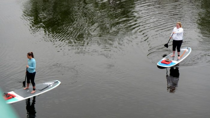 3. Stand-up paddleboarding