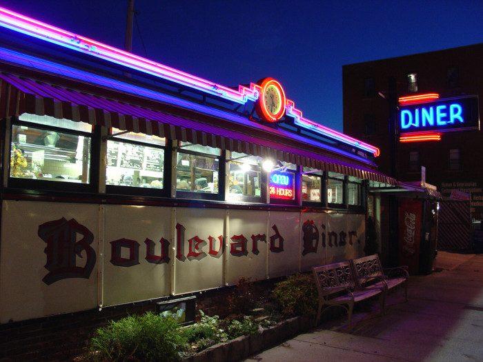 6. Boulevard Diner, Worcester