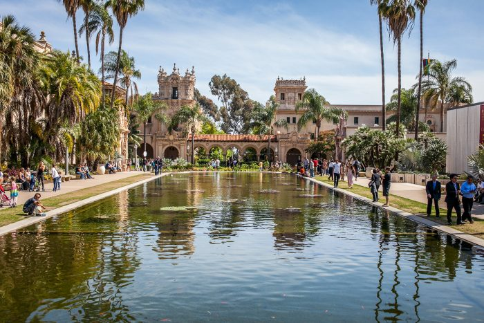 4. You can't go wrong at Balboa Park. Literally every inch of this architectural heaven is begging to be photographed.