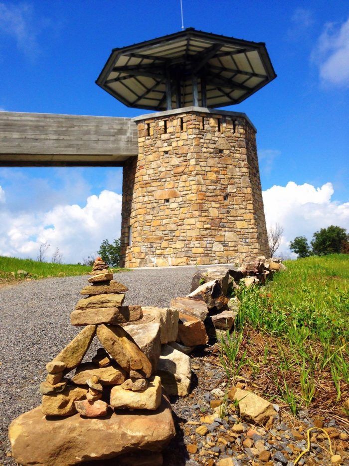 10. High Knob Scenic Tower