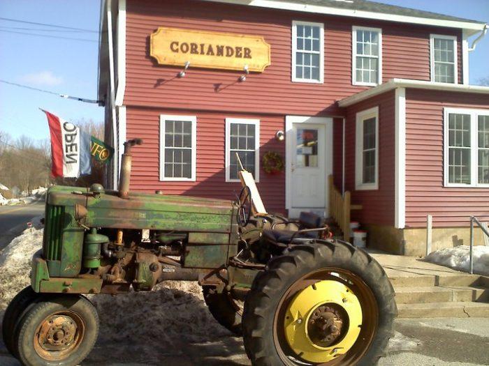 15. Coriander Cafe (Eastford)
