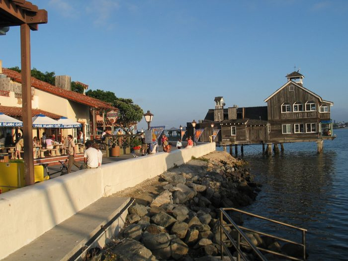 1. Seaport Village San Diego