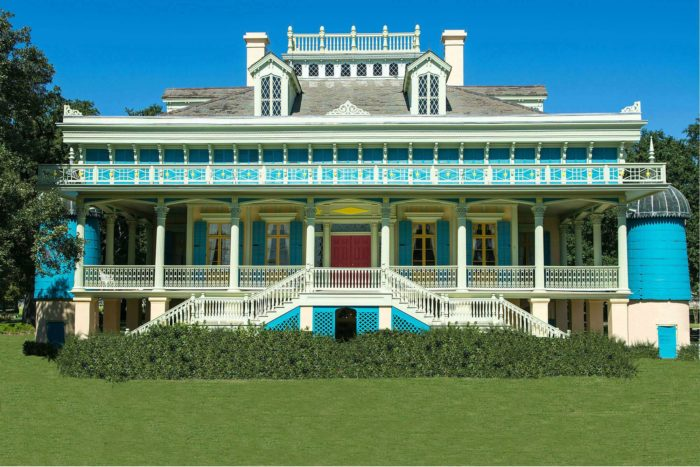 2. San Francisco Plantation House, Reserve, LA