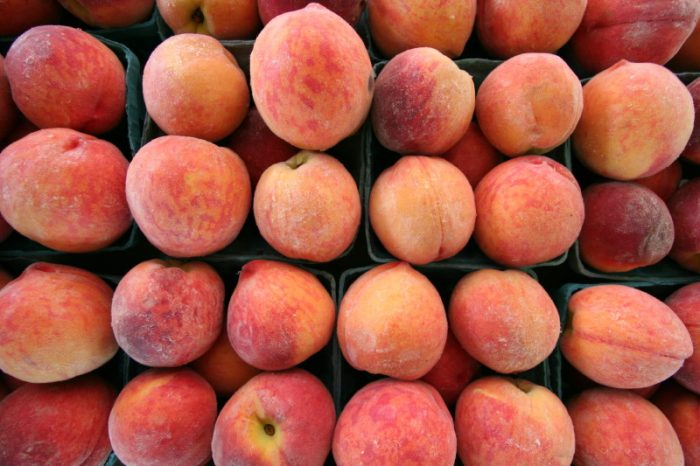 14. Buy your peaches on the side of the road rather than the grocery store.