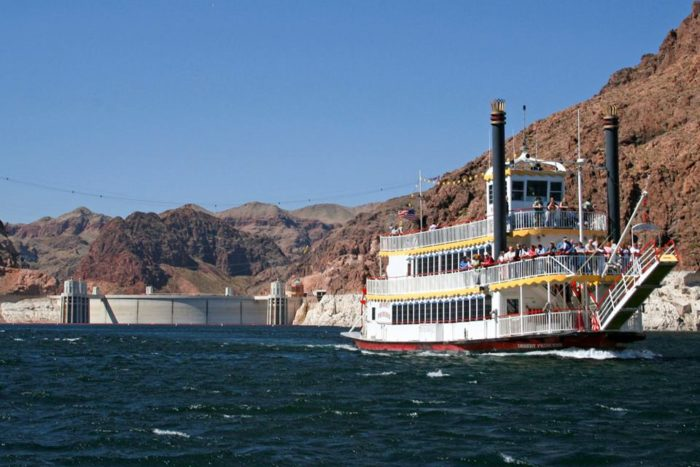 10. Then, take a dinner cruise on Lake Mead.