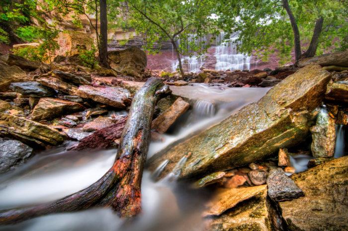 13. Cowley Lake Waterfall (Dexter)