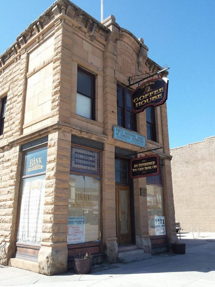 4. The 1881 Bank Coffee House in Custer