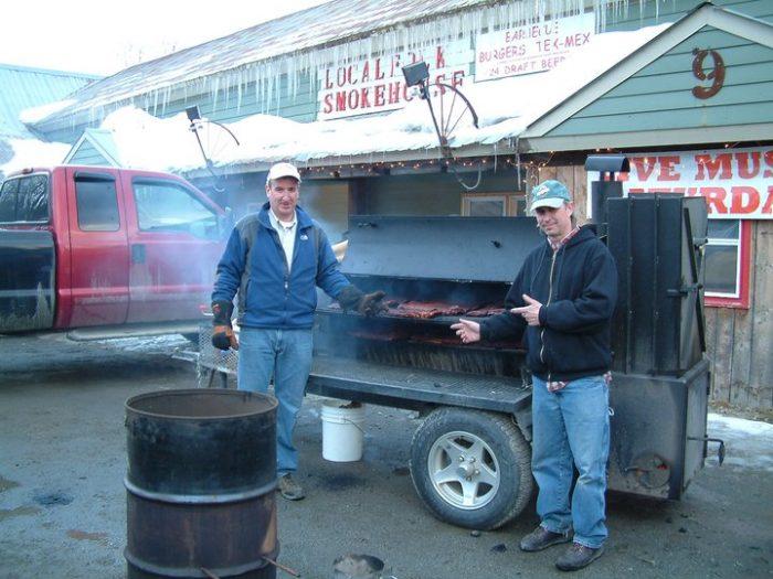 1.  Localfolk Smokehouse, 9 VT Rt. 17, Waitsfield