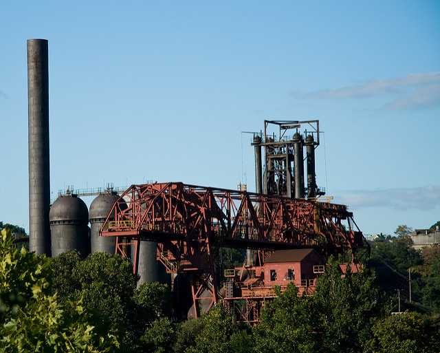 1. Carrie Furnaces