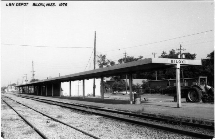 2. This historic Biloxi depot was part of the Louisville and Nashville Railroad, which acquired its first tracks in Mississippi in October of 1881.