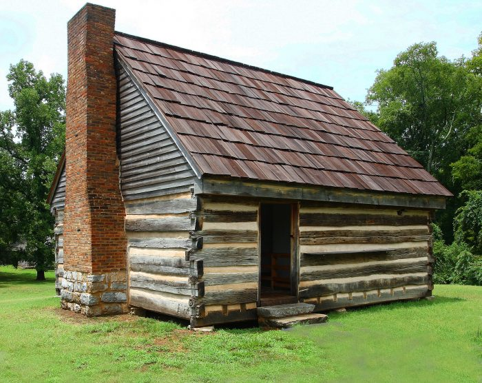 3. This is the FIRST Hermitage - where President Jackson and his wife, Rachel, first made their lives together in Tennessee.