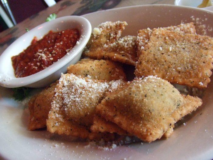 2. Toasted ravioli