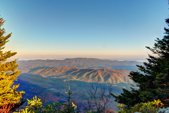 2. Grab your hiking boots and climb high into the Great Smoky Mountains.