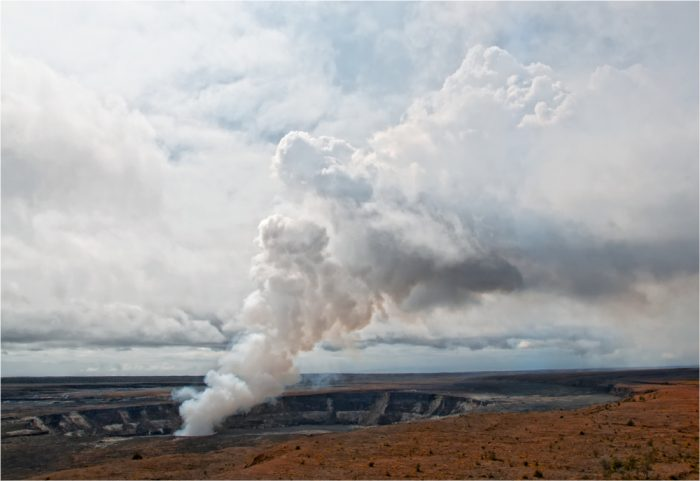 2. Learn about volcanoes at Hawaii Volcanoes National Park.