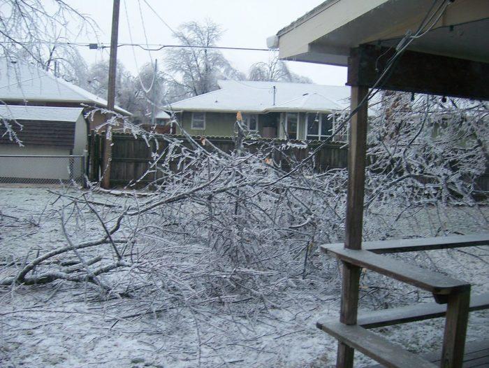 2.January 2007 North American Ice Storm