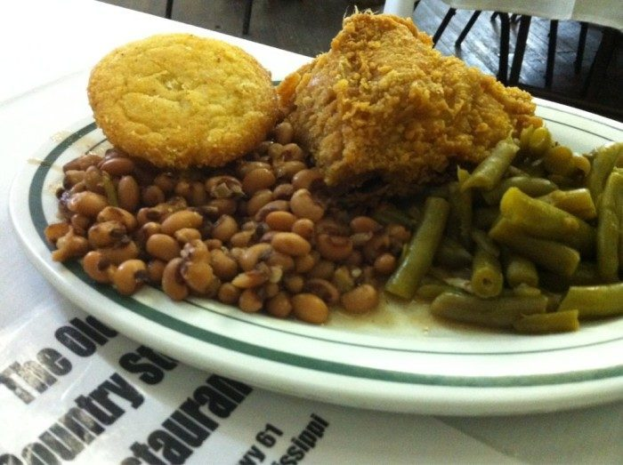 20. Eat some of the best fried chicken in the country at the Old Country Store.