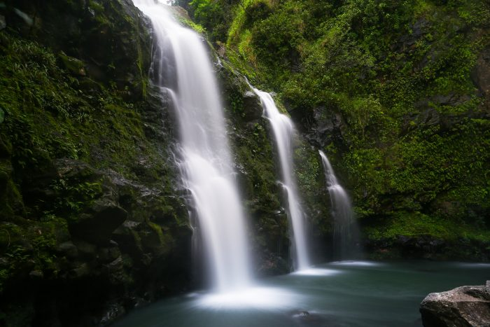 20. Hang out near a cascading waterfall.