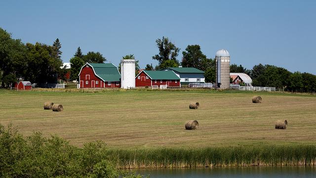 4. This stunning farm that exudes South Dakota charm.