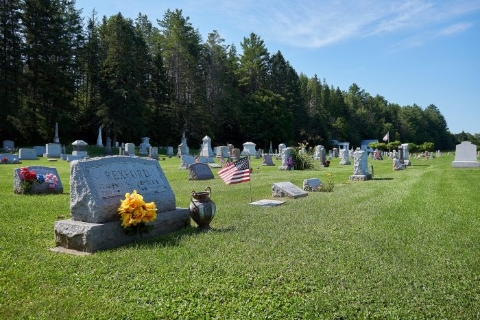5.  Burke Hollow Cemetery, East Burke