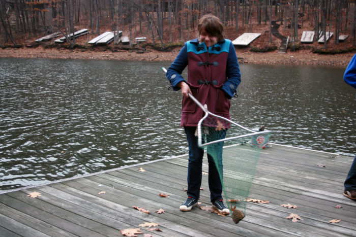 Many people head to Deep Creek to go fishing, where you're likely to catch several species of bass and trout, among others.