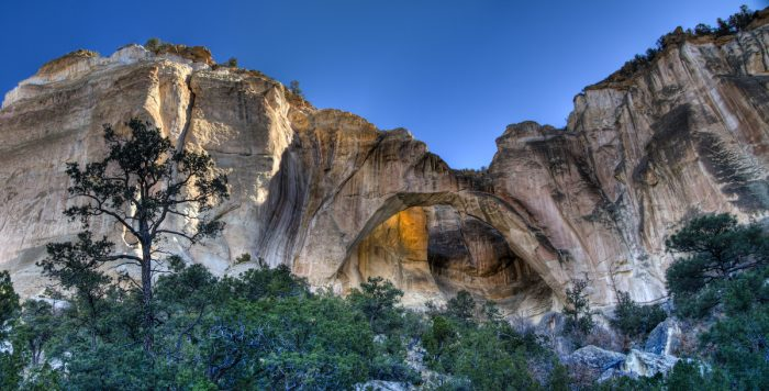 5. La Ventana Natural Arch, near Grants