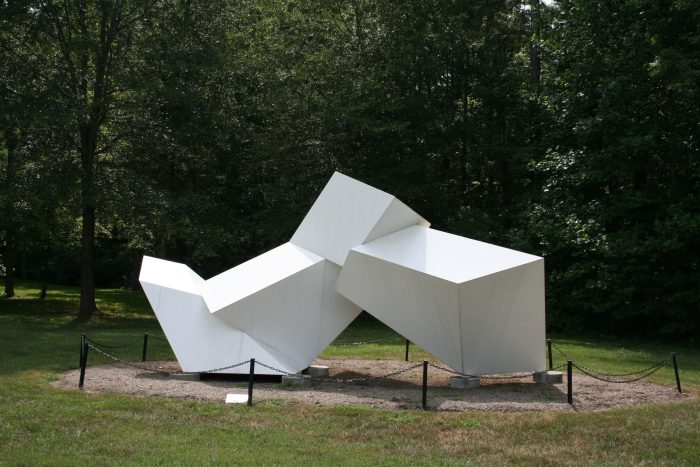 Take a stroll through the 1/4 mile path that leads you to several interesting sculptures.