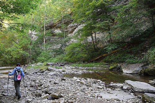 9. McCormick's Creek State Park - Spencer