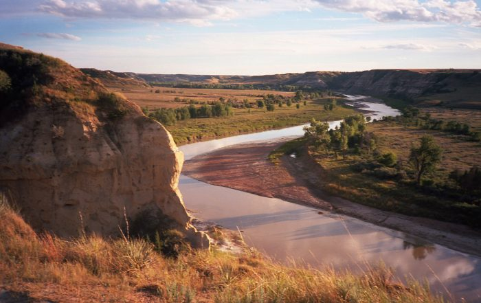9. The Little Missouri River snakes its way through southwestern North Dakota, and I wouldn't be surprised if I came across a mythical creature stopping for a drink on its banks.